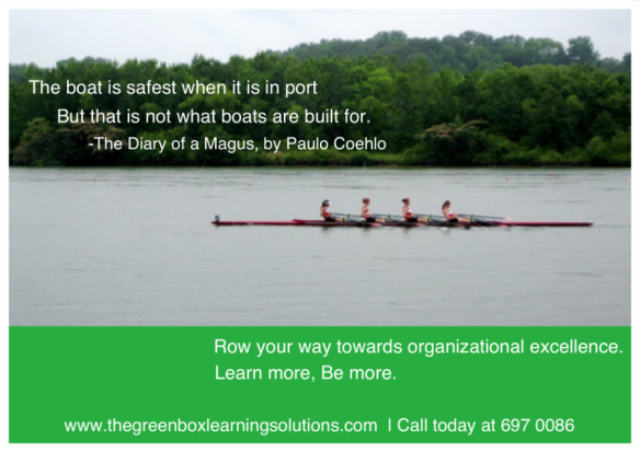Row your way to TGBLS