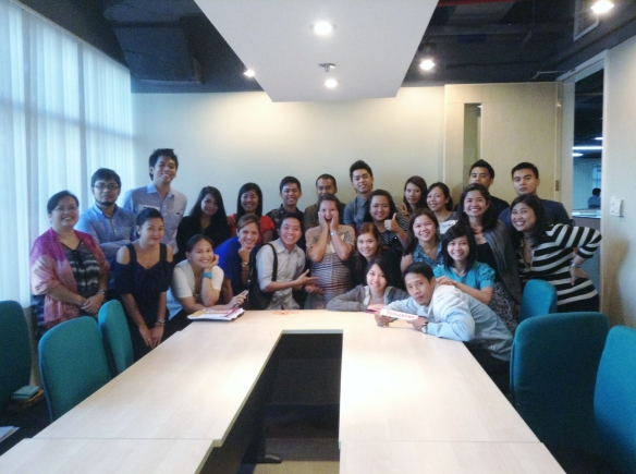 Class photo - EPHI Eastwood batch