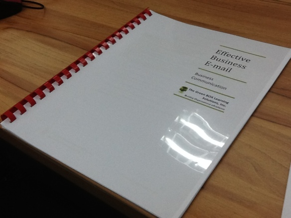 EBE Participant Manual