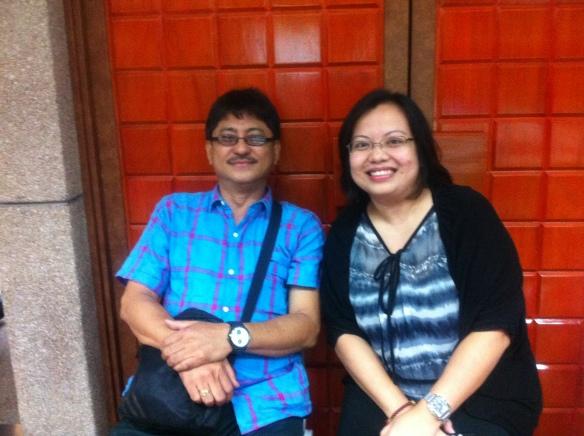 (L-R) Mr. Vic Young (Sec. of PAPFI), Toni Cielo (TGBLS Facilitator))